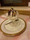 ソラレスのコース(チョコレートサンデー)