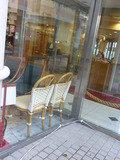 1階レストラン ソラレス(外から見たお店)