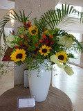 豪華な夏のお花