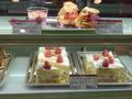 ホテルのプレミアムショートケーキ