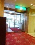 東館1階のホテル入口