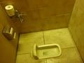 なんと、和式トイレがありました(東館1階)