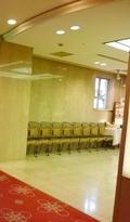 待合のスペース(東館1階 ザ・ガーデン)