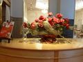 ティーラウンジ「ルネサンス」入口付近のお花