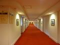 本館と新館をつなぐ廊下(3階)