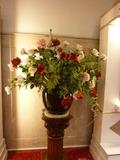 新館1階の豪華なお花