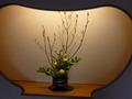客室階の生け花