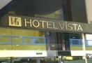 ホテル入口の看板