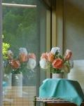 レストランアベニュー内のお花
