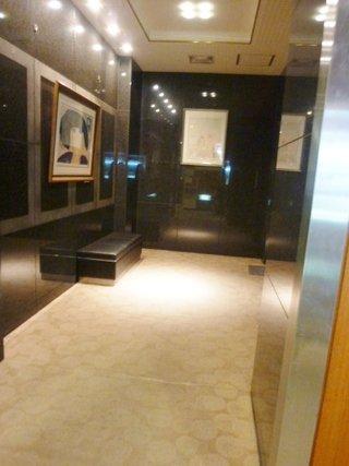 1階ロビーの「喫煙スペース」