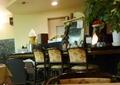 レストランのカウンター席