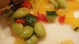 夏野菜と白桃のコンデュモン