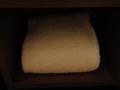 予備のタオル
