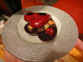 真っ赤なハートのチョコレート