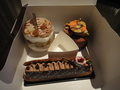 深夜のケーキ