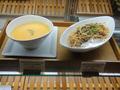 本日のスープとパスタ
