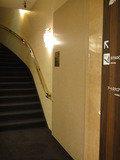 ホテルロビー階へ