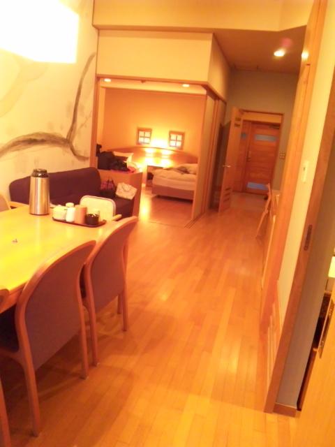 川棚グランドホテル バリアフリー露天風呂付きの広々とした3人部屋