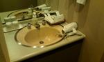 洗面台があります!ドライヤーは有名メーカー製!