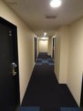 宿泊階の通路です
