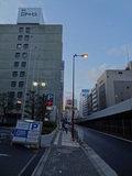 ホテルまえからJR大阪駅側