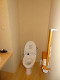 部屋のトイレです。
