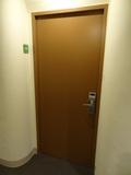 部屋の扉です。
