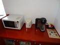 電子レンジやコーヒーメーカー