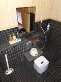 部屋のお風呂の洗い場