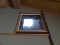 天井にある窓