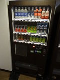 宿泊階の自販機