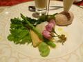 夕食の料理
