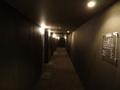 ホテルの通路