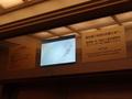 エレベーター内のテレビ