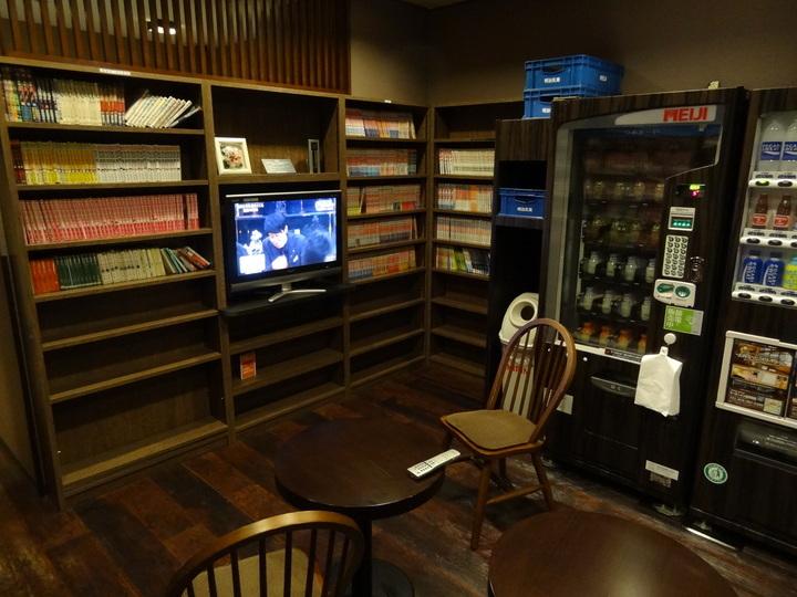 1階の自販機コーナー