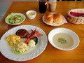 洋食の朝食です