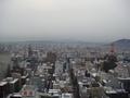 部屋から見える札幌市内