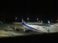 夜の空港はきれいですよね