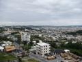 沖縄市街が見えます。