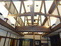 宴会場の天井