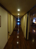 部屋の真正面の通路