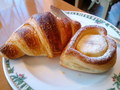 北海道ホテルの朝食、クロワッサンは絶品。