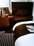 40以上?このクラスのホテルでは大きなテレビ
