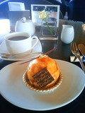 ロビーラウンジで味わうミシェル・ブランのケーキ