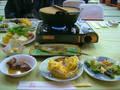 バイキング夕食の鍋