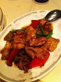 蓬莱の夕食