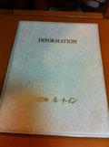 インフォメーションブック