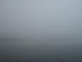 芦ノ湖はまさかの濃霧に包まれて