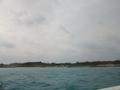 船から見た海