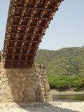 錦帯橋の下